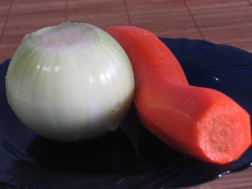 Каша ячневая с овощами