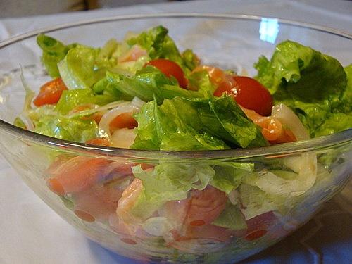 салат с форелью рецепт на оливковом масле