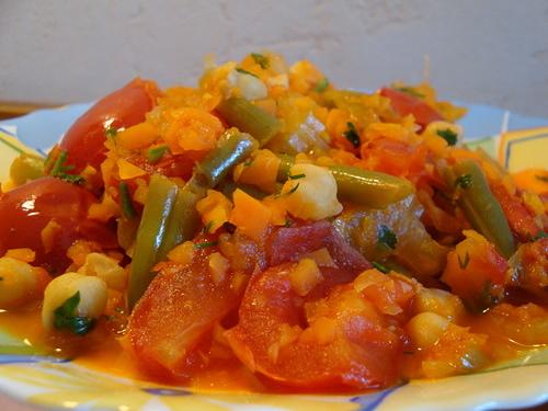 Рецепты постных блюд из овощей