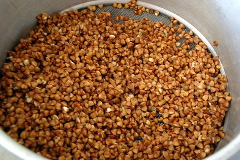 Гречнево-пшеничная каша с овощами